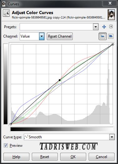Curves اصلاح رنگ تصاویر در فتوشاپ با ابزار